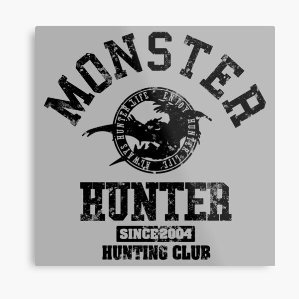Monster Hunter Hunting Club ! Metal Print
