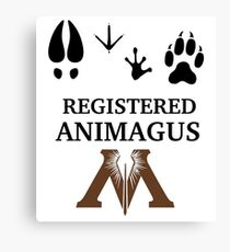 Registered Animagus Canvas Print