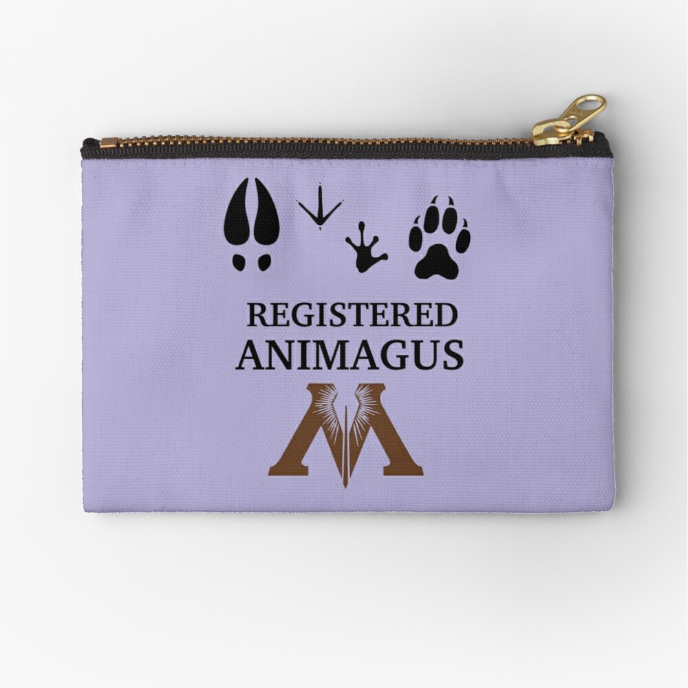 Registered Animagus Zipper Pouch