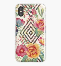 Flower Graphic  iPhone Case
