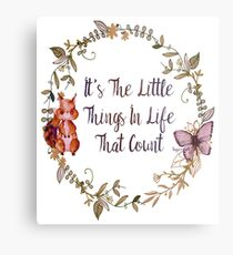 The Little Things In Life  Metal Print