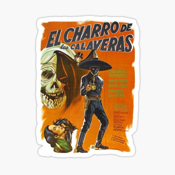 El Charro De Las Calaveras Sticker