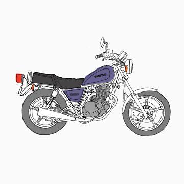 Suzuki GN250 by onree