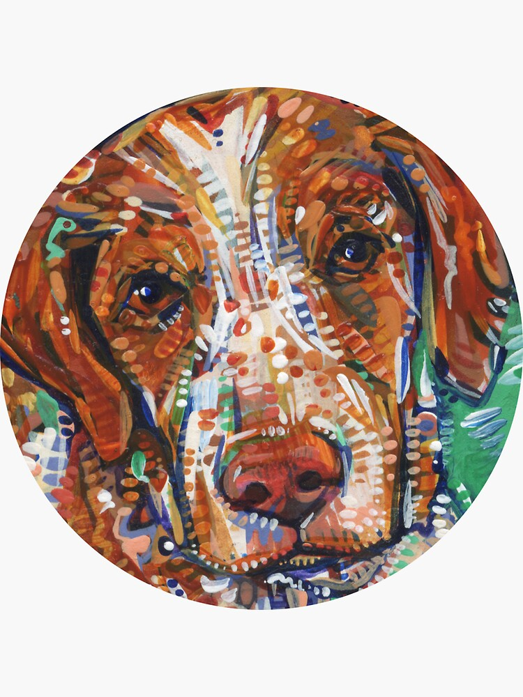 Brittany Spaniel Painting - 2017 by gwennpaints