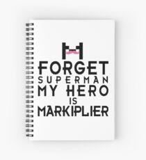 MY HERO IS MARKIPLIER Spiral Notebook