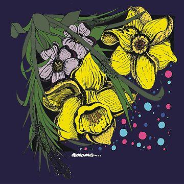 Daffodils by amamaDESIGNS