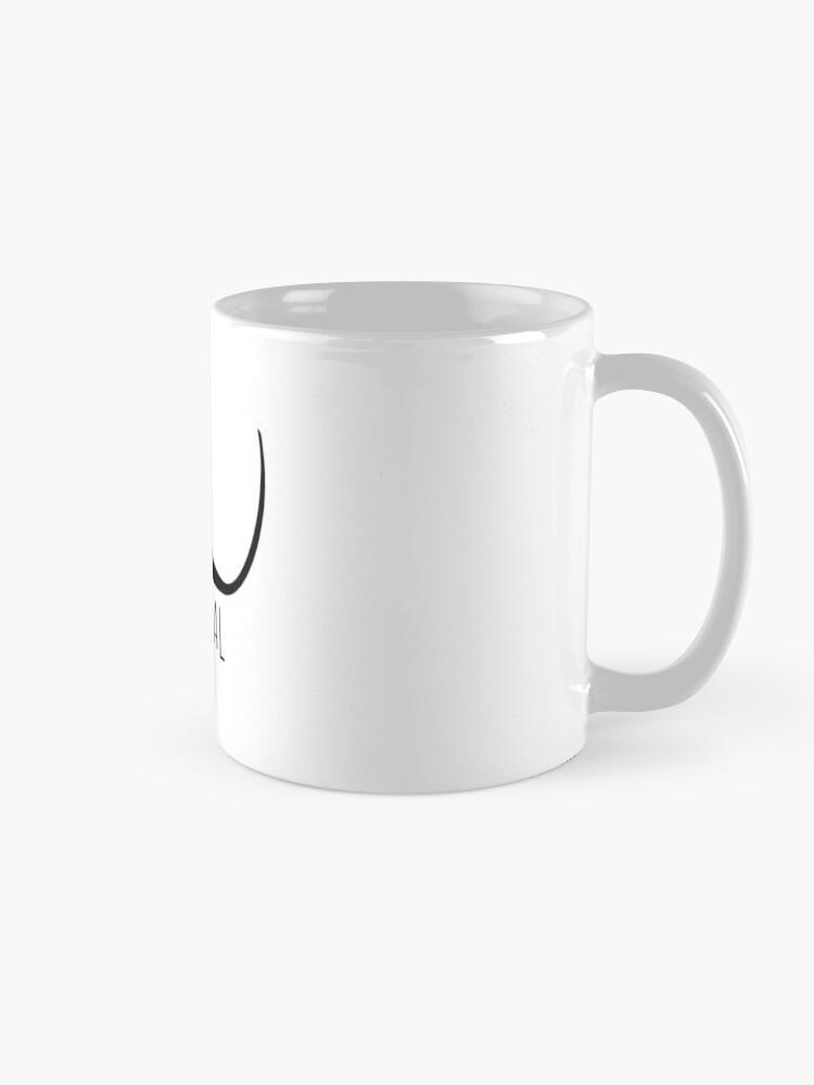 Alternate view of Surreal moustache (Dali) Mug