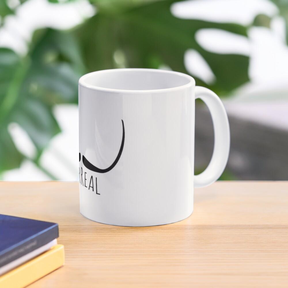 Surreal moustache (Dali) Mug