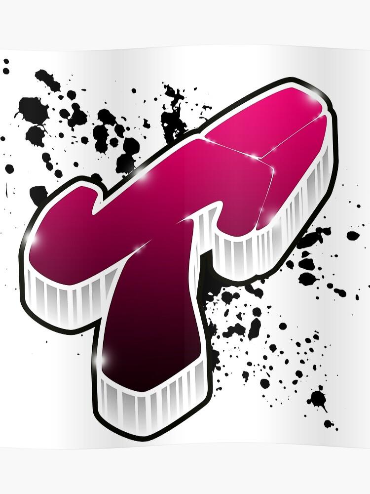 T - Graffiti letter | Poster