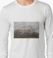 Adolphe Jean-Baptiste Bayot - Storming of Chapultepec; Pillow's Attack  (1851) Long Sleeve T-Shirt