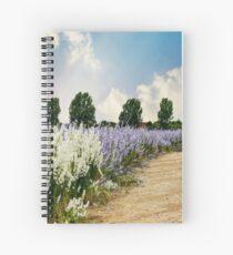Coloured Landscape Spiral Notebook
