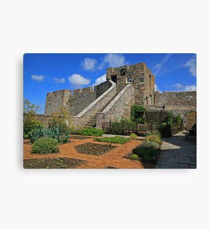 Castle Cornet Canvas Print