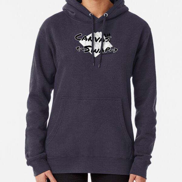 Canvas Swap - Logo (2 versions) Pullover Hoodie