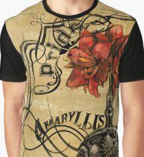 Flower Of Pride: Amaryllis Graphic T-Shirt