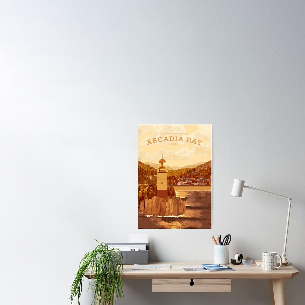 Life is Strange - Arcadia Bay Travel Poster (Sunset) Poster