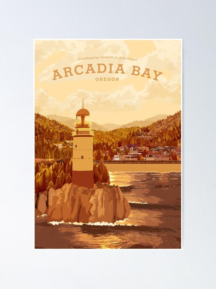 Alternate view of Life is Strange - Arcadia Bay Travel Poster (Sunset) Poster