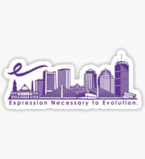 Emerson College Sticker