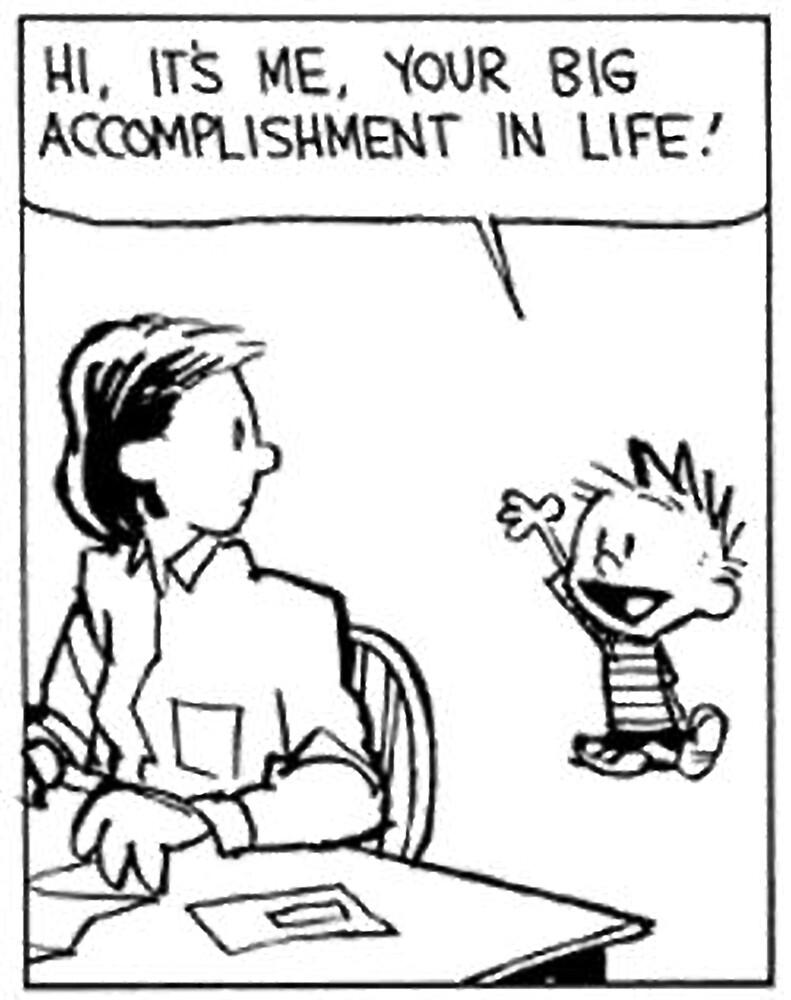 Cómic de Calvin y Hobbes» de Bob Bob   Redbubble