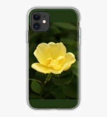 Yellow Flora iPhone Case