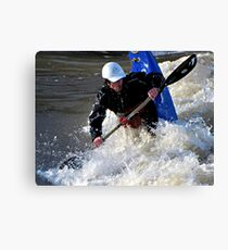 Kayaking on the Long Tom River #1 Canvas Print