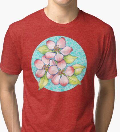 Apple Blossoms Tri-blend T-Shirt