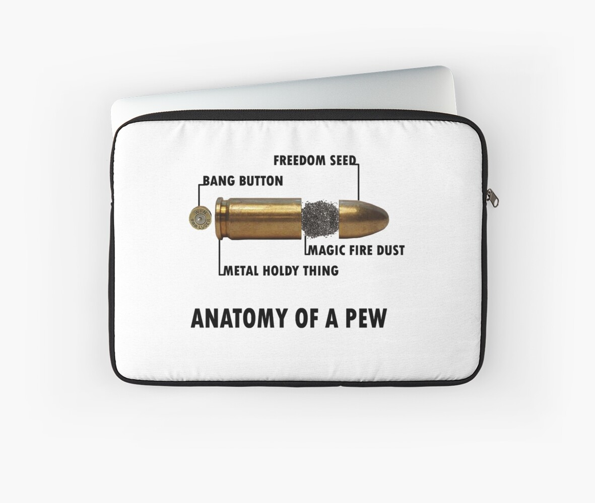 Anatomy of a Pew FPS Bullet Deconstruction For Gamers Geeks and ...
