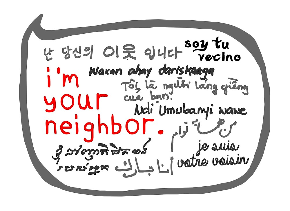 Welcoming Immigrants by imyourneighbor