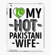 I Love My HOT Pakistani Wife - Cute Pakistan Couples Romantic Love T-Shirts & Stickers iPad Case/Skin