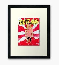 Devilman (Resized) Framed Print