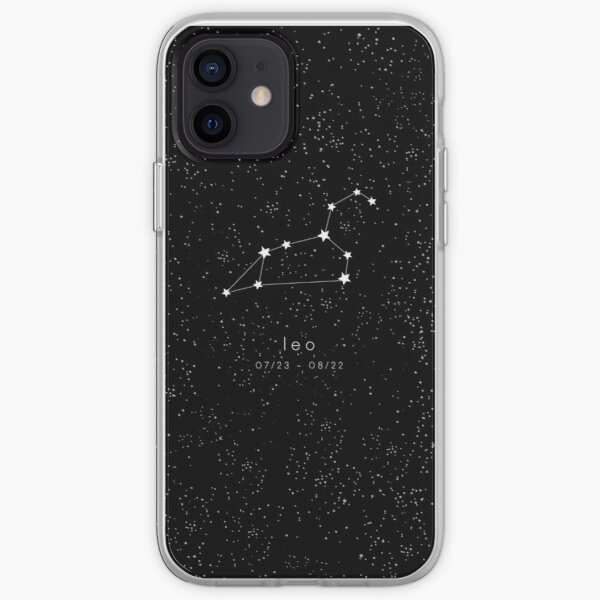 Leo Zodiac Constellation iPhone Soft Case