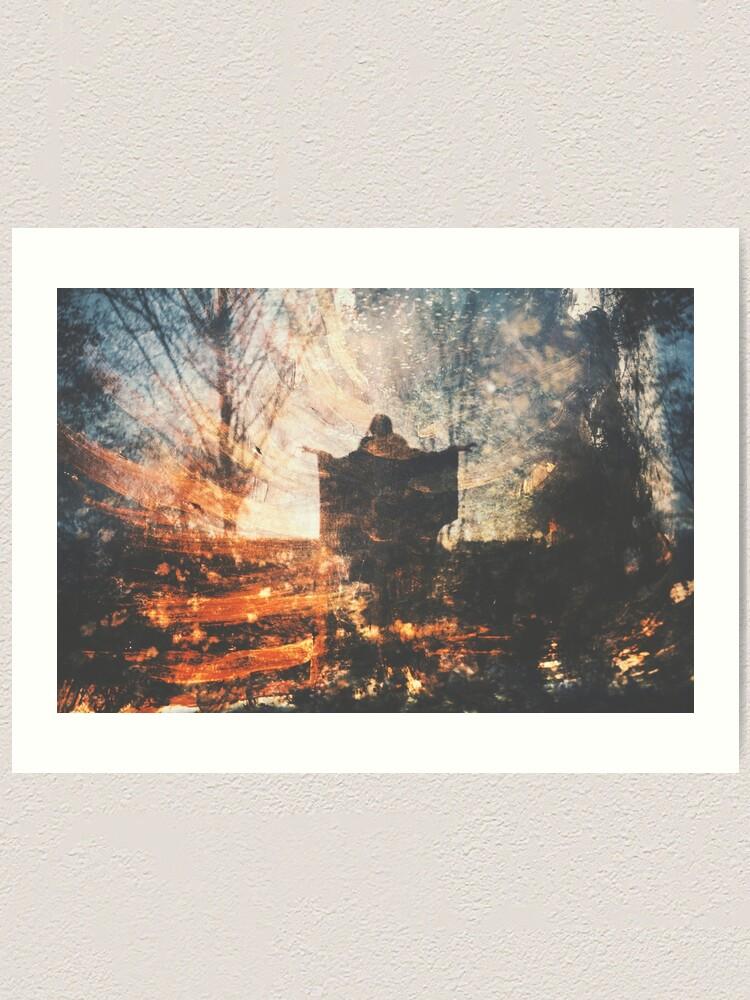 Alternate view of Une Nuit d'Hiver Art Print