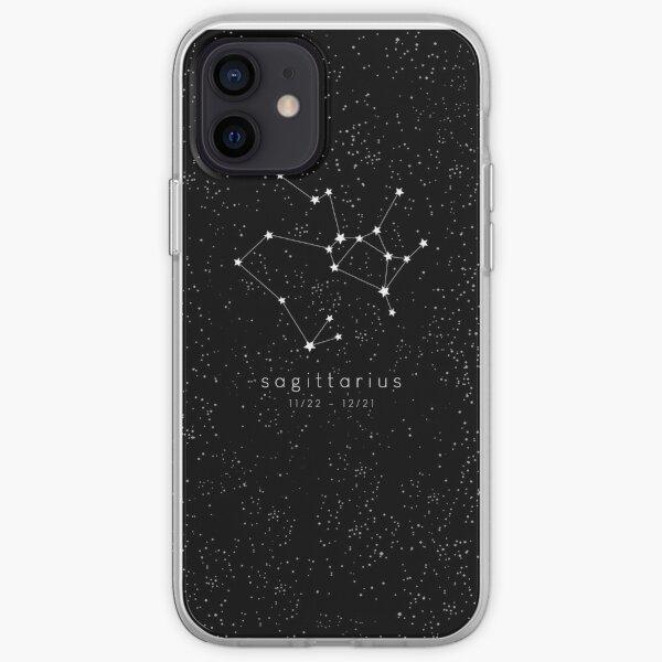 Sagittarius Zodiac Constellation iPhone Soft Case
