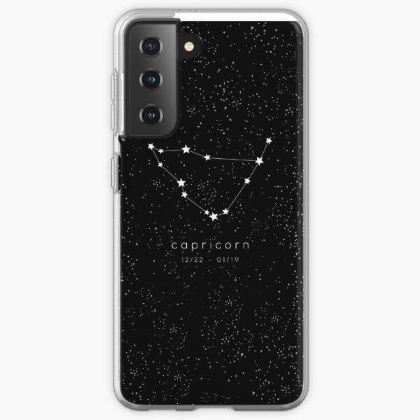 Capricorn Zodiac Constellation Samsung Galaxy Soft Case