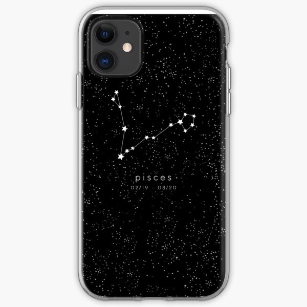 Pisces Zodiac Constellation iPhone Soft Case