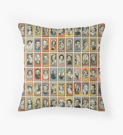50 male and female film stars from the 1940s Floor Pillow