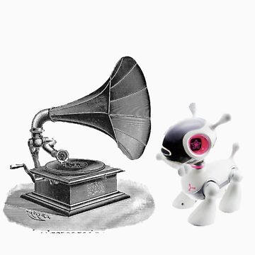 Its Master's Voice by MarysBoyChild