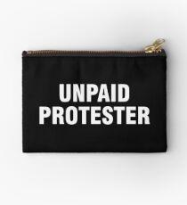 Unpaid protester Studio Pouch