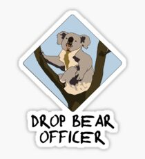 Drop Bears Preservation Society Sticker