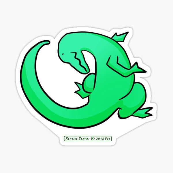 Reptile Senpai S01E05 Sticker