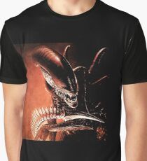 Red alien Graphic T-Shirt
