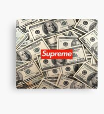 Money supreme Canvas Print