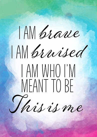 Quot This Is Me The Greatest Showman Quot Posters By Brianna