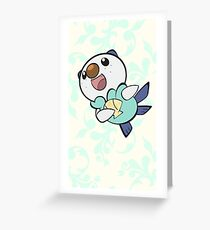 Fancy Oshawott Greeting Card