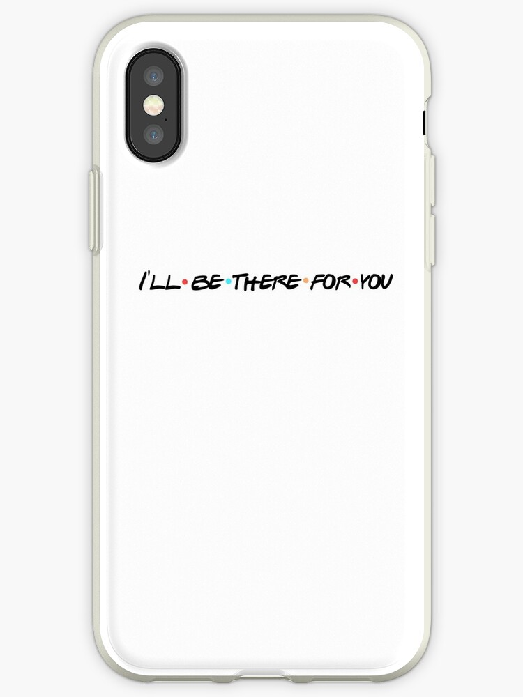 huge selection of 2343f 13e93 'I'll Be There For You - Friends' iPhone Case by Madison Michele