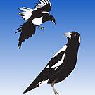Magpie encounter by ahahdodo