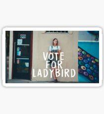VOTE FOR LADYBIRD  Sticker