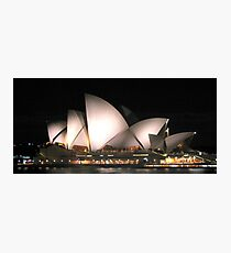 Opera by Night Photographic Print