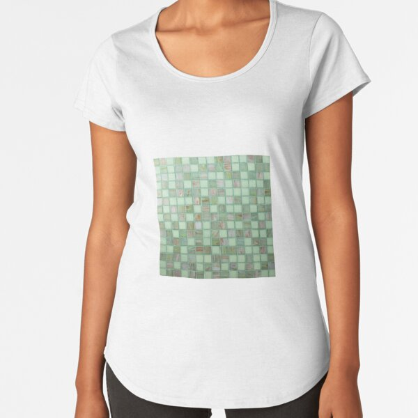 pattern, design, tracery, weave, ornament, decor, garniture, lace, узор, плетение, орнамент, декор, гарнитура, кружева Premium Scoop T-Shirt