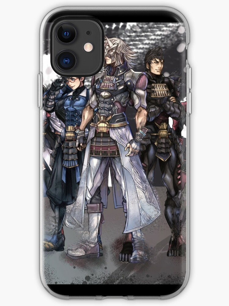 Xenoblade Chronicles cover 2 iphone case