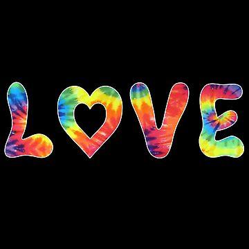 Tie Dye Love by pabloestamor